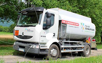 camion livraison fioul