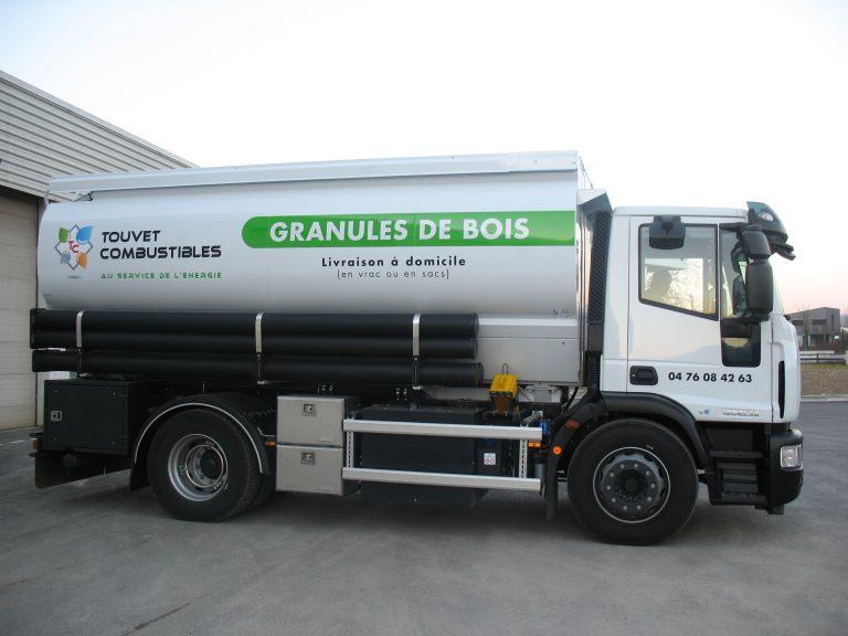 camion livraison pellets