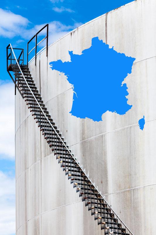 marché pétrolier en France