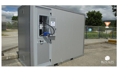 station AdBlue bluebox Touvet Combustibles