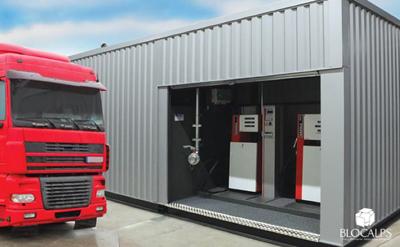 station service eurobox gasoil gnr adblue Touvet Combustibles