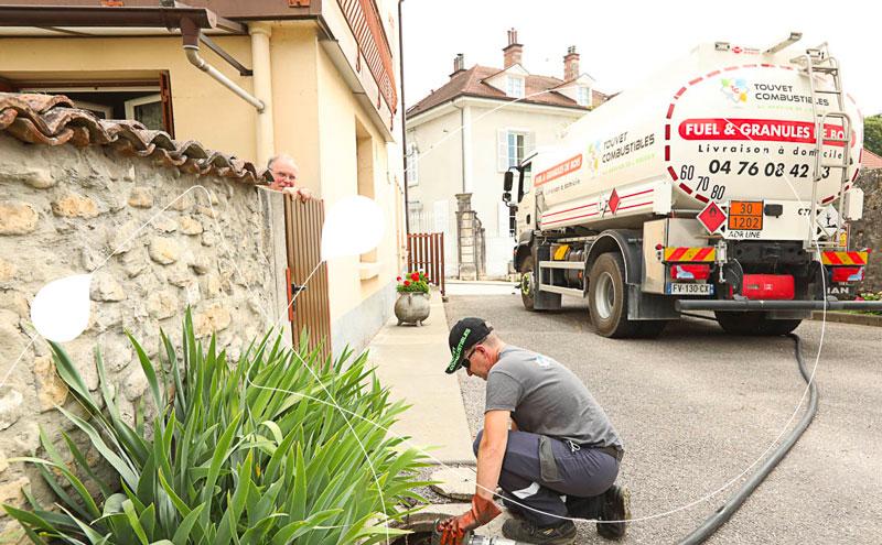livraison de Fds fioul à domicile Touvet Combustibles