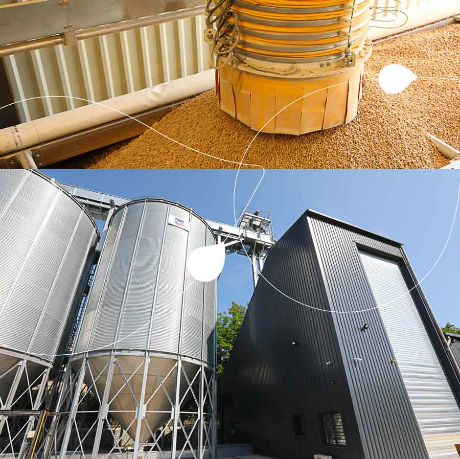 silo à pellets Touvet Combustibles