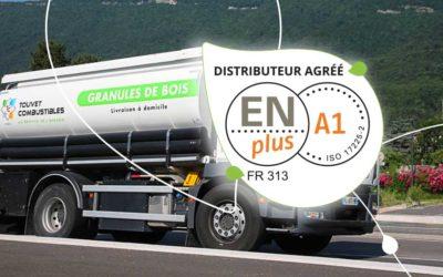Touvet Combustibles certifié ENplus®